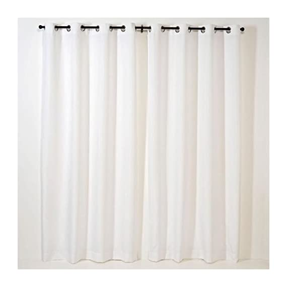 Gazebo panels for Outdoor or Indoor value - Mildew resistant, water resistant, fade resistant yarn dyed deluxe polyester 8 grommet rings per panel - living-room-soft-furnishings, living-room, draperies-curtains-shades - 41hWAOfE2AL. SS570  -
