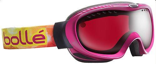 Bolle Simmer Snow Goggles (Raspberry Frame/Vermillon - Bolle Ski Ladies Goggles