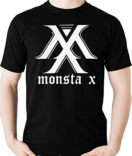 Camiseta Monsta X - K-Pop (Nerd Geek) Monster X Camisa Blusa