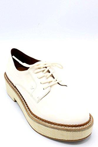 de Beige Chaussures Emporio à Armani Ville Lacets Pour Femme Beige qAxwPU