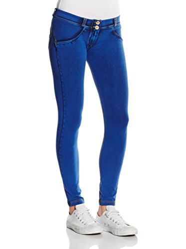 FREDDY Donna Leggings 7 Pantalone Blu 8 zqr1zwR