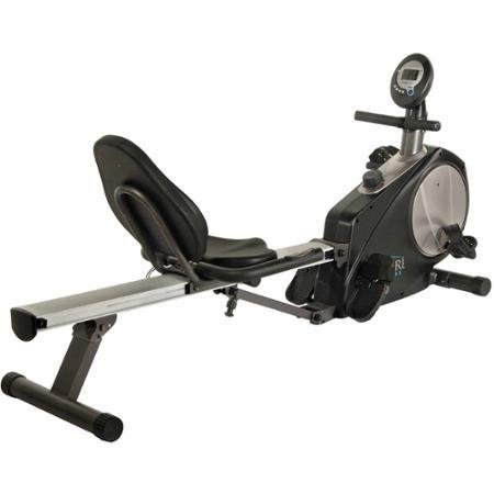 250 Lbs Steel Avari Conversion II Rower/Recumbent Bike, 74.50 x 23.50 x 34