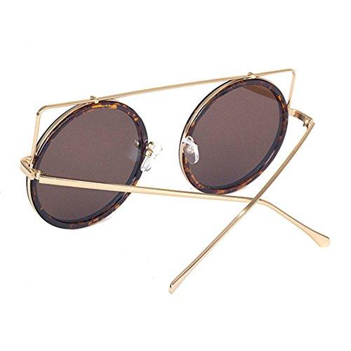 Aoligei Dames de lunettes de soleil élégant cadre grand chat oreille tour rue lunettes de soleil hommes voyage kM0tTQox