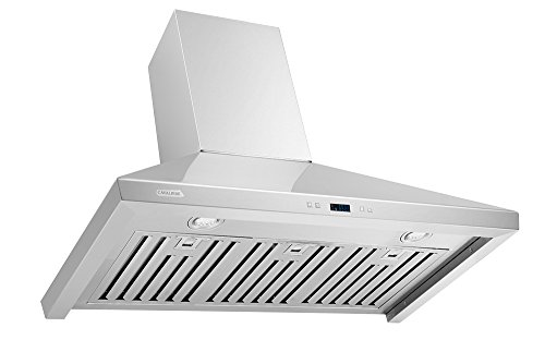 CAVALIERE SV218F-36 Wall Mounted Stainless Steel Kitchen Range Hood 900 CFM by CAVALIERE (Image #4)