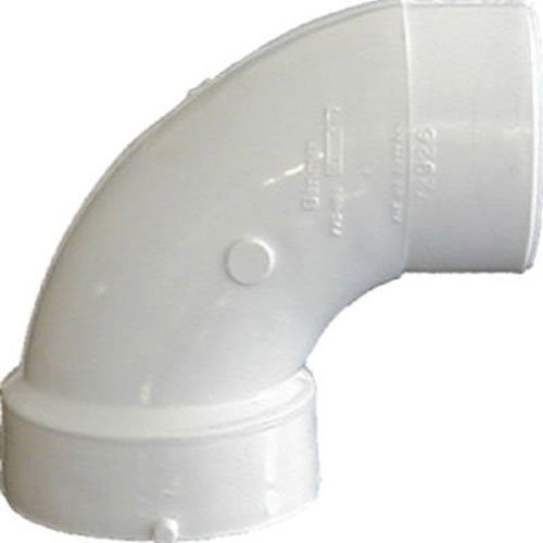 Genova Products 72946 90° Sanitary Street Elbow Pipe Fitting, 4