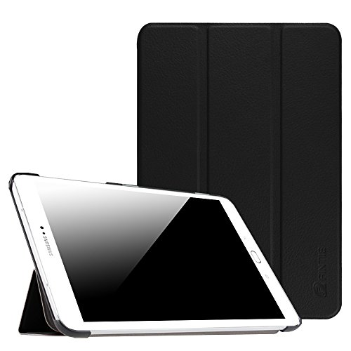 Fintie Samsung Galaxy Tab S2 8.0 Case - Ultra Lightweight Protective Slim Shell Stand Cover with Auto Sleep/Wake Feature for Samsung Galaxy Tab S2 / S2 Nook 8.0 Inch Tablet, Black