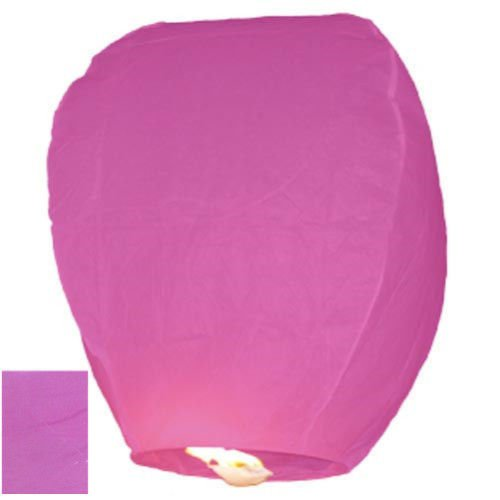 """""""A LIITTLE TREE"""" 20 Fuchsia Pink - Chinese Flying Sky Lanterns (A LIITTLE TREE)"""