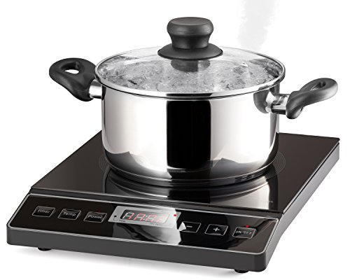 Chef's Star 1800W Portable Induction Cooktop Countertop Burner - 120V / 60Hz - Black by Chef's Star (Image #5)