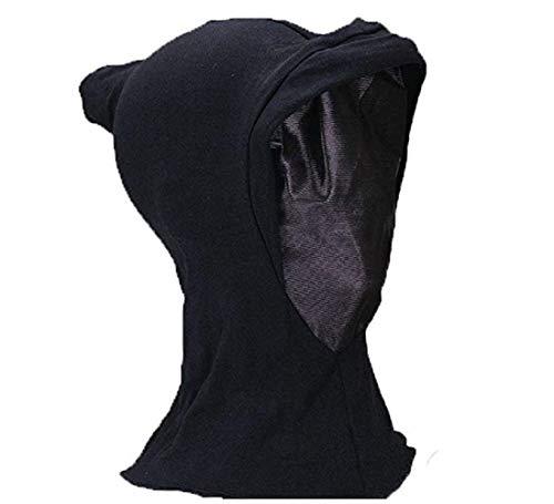 Black Hidden Face Mask ()