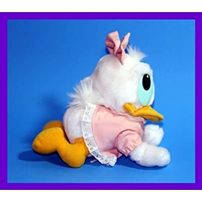 "8"" 1984 Vintage Baby Daisy Duck Crawl Position Plush: Toys & Games"