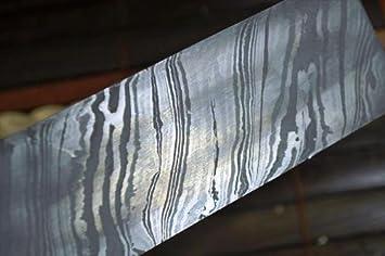 Perkin Knives - Placa de Acero de Damasco para elaboración ...