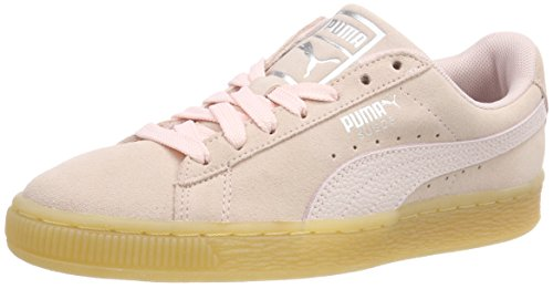 Femme Bubble Classic Pearl Puma Suede Wn's Basses Sneakers Rose xOvRzw6q
