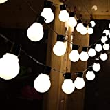 20LED Big Bulb Fairy String Lights for Decoration by RaajaOutlets Plastic Frosted Globe Indoor Outdoor Christmas Diwali Decorative Lighting