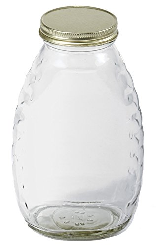 Little Giant Farm & Ag HJAR16 Glass Jar (12 Pack), 16 oz