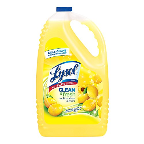 Lysol Clean & Fresh Multi-Surface Cleaner, Lemon & Sunflower, (Purpose Disinfectant)