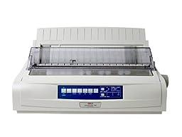 The Best MICROLINE 491 PRINTER - B/W - DOT-MATRIX - 360 DPI - 24 PIN - 315 CPS - PARALLEL