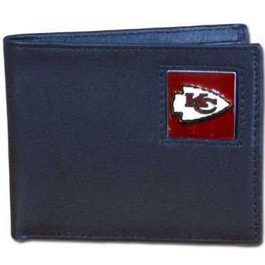 NFL Bifold Wallet in a Window Box - Kansas City Chiefs