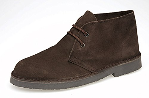 Roamer - Mocasines de cuero para hombre marrón marrón, color marrón, talla 41.5