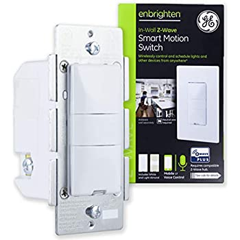 Ge Enbrighten Z Wave Plus Smart Toggle Light Switch On