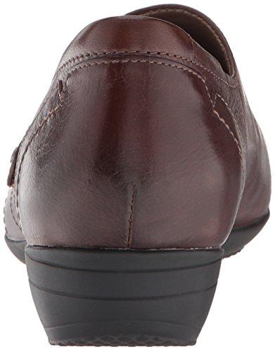 Dansko Women's Franny Loafer Flat Chocolate Burnished Calf