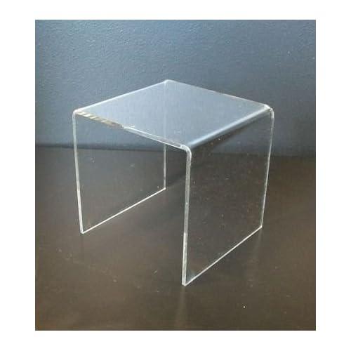Acrylic Display Plinth / Stand / Holder / Bridge Width 200mm x Height 200mm x Depth 200mm - PDS8620