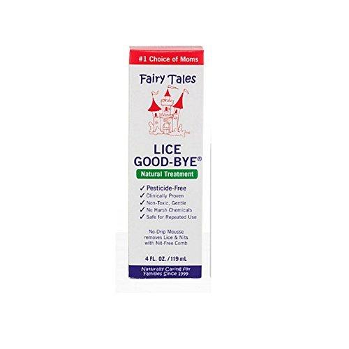 Ft Lice Good Bye Mousse T Size 4z Fairy Tales Lice Good-Bye Treatment 4z