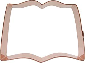 CopperGifts: Open Book Cookie Cutter