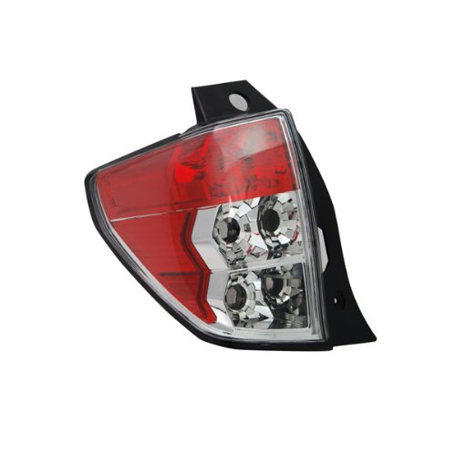 TYC 11-6338-01 Replacement Driver Side Tail Lamp for Subaru Forester - Left Rear Tail Light Assembly