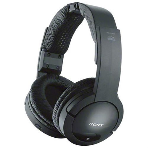 Sony 900MHz Wireless Stereo Noise Reduction Headphones With 40 mm Driver Units, Automatic Tuning, Up To 45 Meter (150 Ft.) Reception Range, 25 Hour Battery Life, Volume Control On Headphones, Easy Connection Of TV, Hi-Fi, And Other Components, Model MDR-RF985RK (Sony Driver)