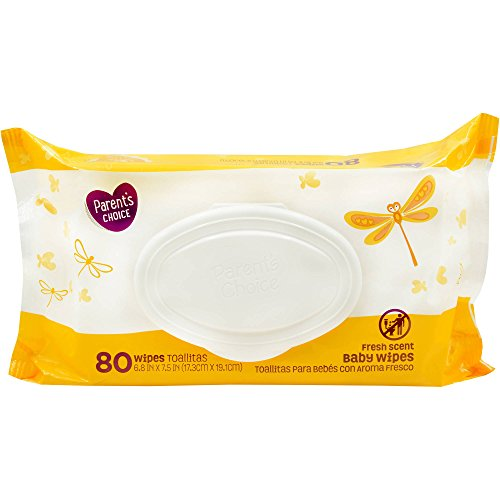 Parents Choice 80ct Fresh Scent Baby Wipes