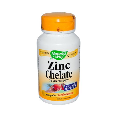 Natures Way Chelate Capsules Count