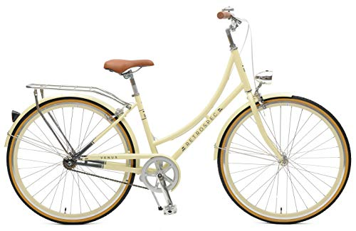 Retrospec Venus-1 Step-Thru Frame Single-Speed Urban Commuter City Bicycle