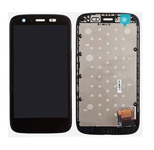 ePartSolution-OEM Motorola Moto G XT1032 XT1036 LCD Display Touch Screen Digitizer Front + Frame Assembly Black Replacement Part USA Seller (Motorola G Screen)