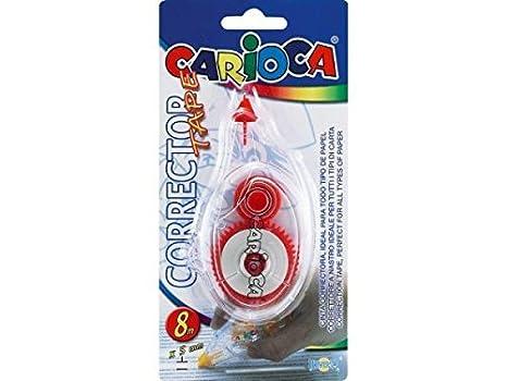 Carioca B99420712 - Blister corrector tape, 1 unidad: Amazon.es: Oficina y papelería