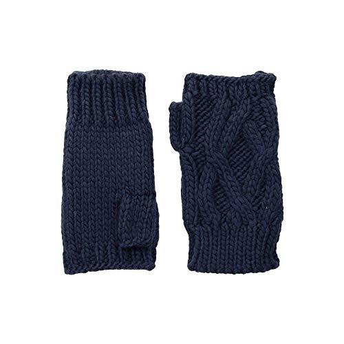 (サンディエゴハット) San Diego Hat Company レディース 手袋?グローブ KNG3495 Cable Knit Fingerless Gloves [並行輸入品]