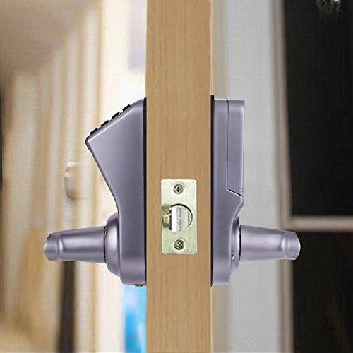 Adel 3398 keyless biometric fingerprint door lock trinity Biometric door lock