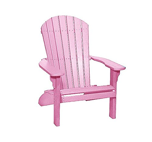 Poly Fan-Back Adirondack Chair, ()