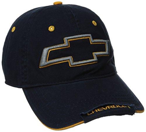 Chevy Men's Ballistic Nylon Logo Baseball Cap, Blue, One Size