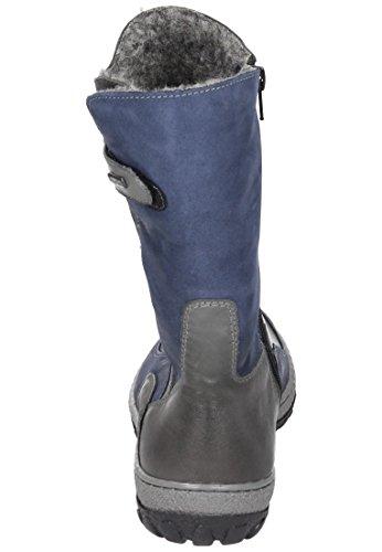 Manitu Damen 991088 Stiefel Blau (Blau)