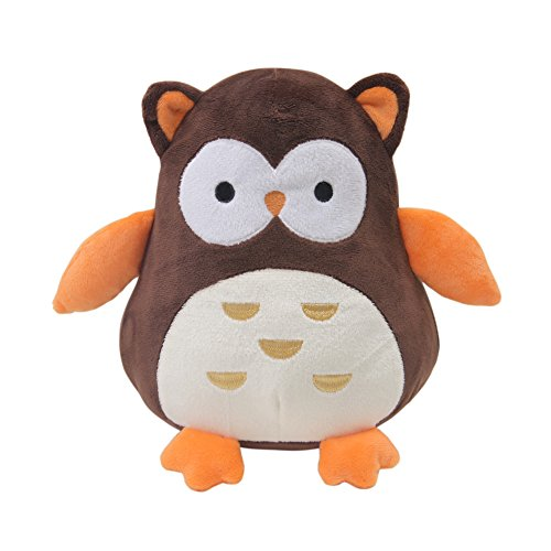 Bedtime Originals Friendly Forest Brown Plush Owl Percy