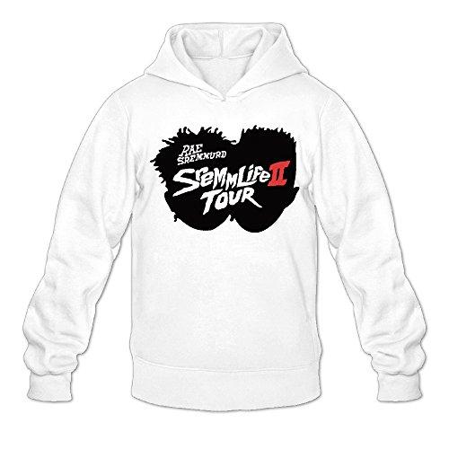Rae Sremmurd Sremmlife 2 Tour Classic Men's Hooded Hoodies White M ()
