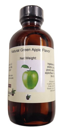 OliveNation Green Apple Natural Flavor, 4 Ounce