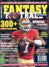 PRO FORECAST FANTASY FOOTBALL MAGAZINE KAEPERNICK NEW 2013 300 PLAYER PROJECTIONS PLUS