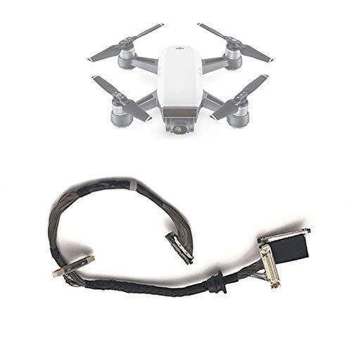 Goldyqin Flex Wire per DJI Spare Parts Cavo di Segnale Flessibile per DJI Spark Drone Asscessories Wire Line Replacement Nero