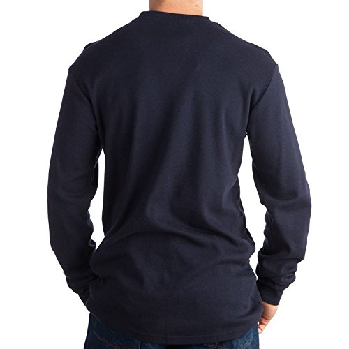 Rasco FR Navy Henley T-Shirt 100% Preshrunk Cotton NFPA 2112 Large by Rasco FR