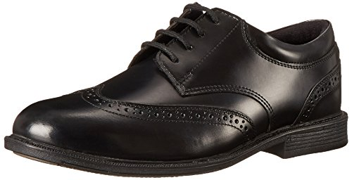Mens Nunn Bush Cumberland Wing Tip Oxford Black