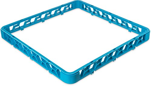 Carlisle RE14 OptiClean Polypropylene Open Glass Rack Extender, 19.75 x 19.75 x 1.75
