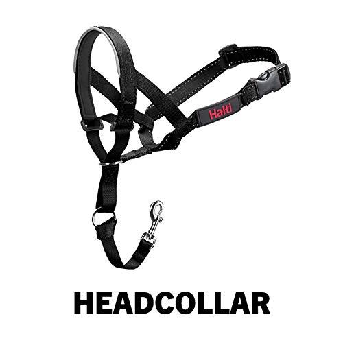 Halti Headcollar, Black, Size 3 - D-ring Training Collar