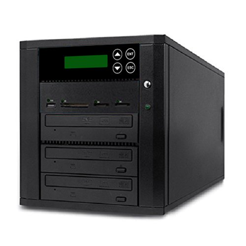 Stand Copier Copystar (Acumen Disc DV-902-SSP Flash Memory Drive to Media Disc Duplicator with 1-2 Target DVD/CD Burners (with MS, CF, SD, MMC, USB Slots))