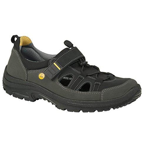 Free Ejendals 44 de Chaussures travail Jalas Gris Noir 5062 Taille Eq0OrvEx